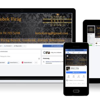 Facebook arculat tervezés - Bobek Virág