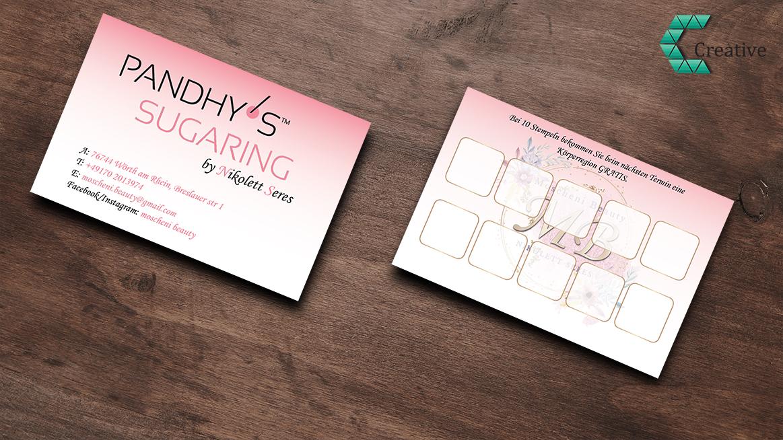 Kupon kártya tervezés