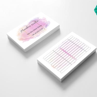 Időpontkártya tervezés